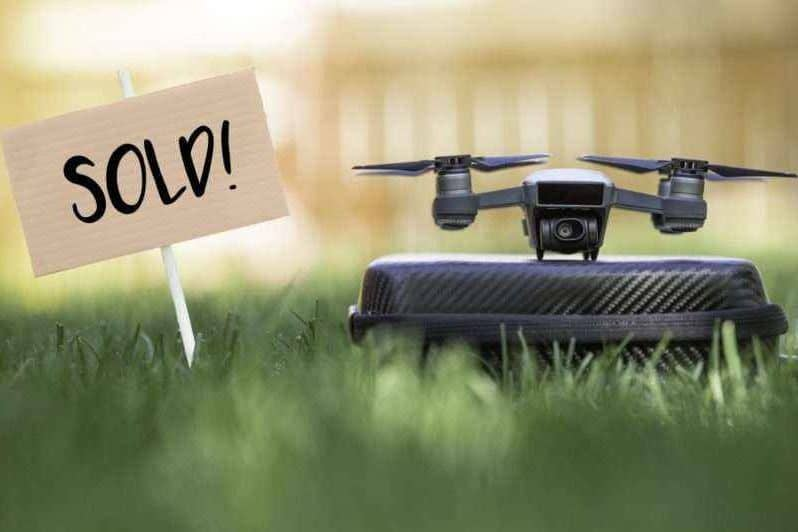 Sell your used drone photo