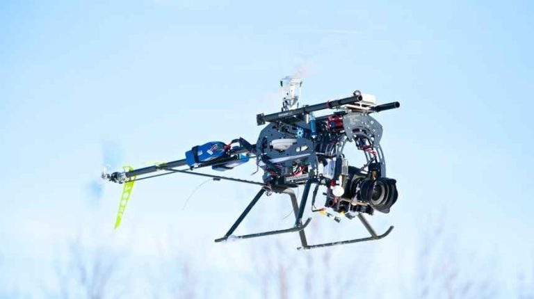 Single Rotor Photography helicopter