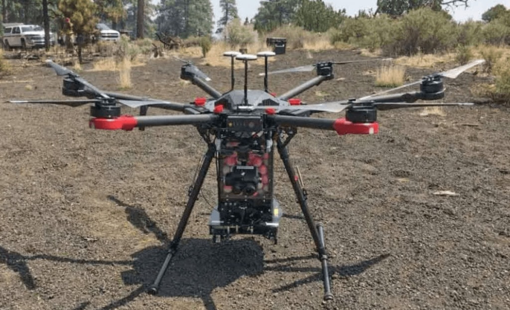 Uses for Drones Aerial Fire Ignition